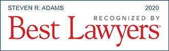 Logo Recognizing The Law Offices of Steven R. Adams's affiliation with Best Lawyers 2020