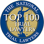 Logo Recognizing The Law Offices of Steven R. Adams's affiliation with National Trial Lawyers